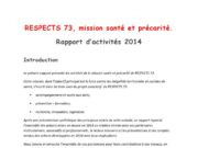 thumbnail of rapportactivite2014missionsanteetprecarite